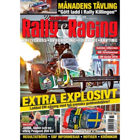Bilsport Rally & Racing nr 11 2018