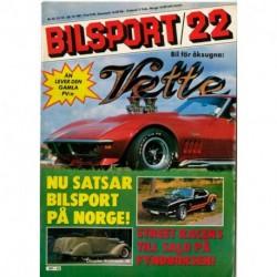 Bilsport nr 22  1981