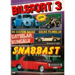 Bilsport nr 3  1985