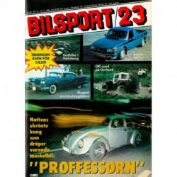Bilsport nr 23  1980