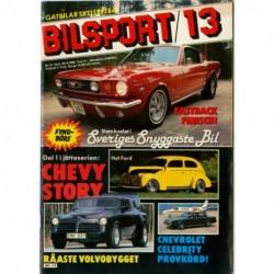 Bilsport nr 13  1982
