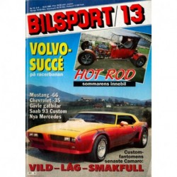 Bilsport nr 13  1985