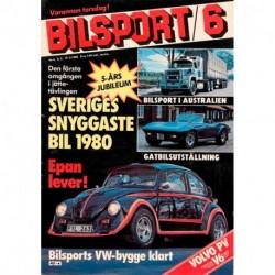 Bilsport nr 6  1980