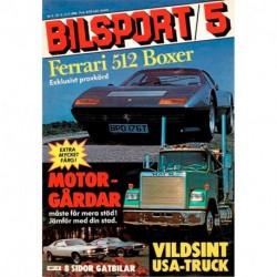 Bilsport nr 5  1980