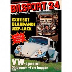 Bilsport nr 24  1979