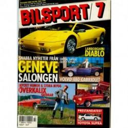Bilsport nr 7  1990
