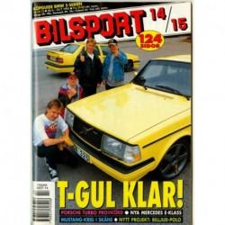 Bilsport nr 14  1995