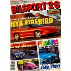 Bilsport nr 26  1992