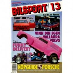 Bilsport nr 13  1991
