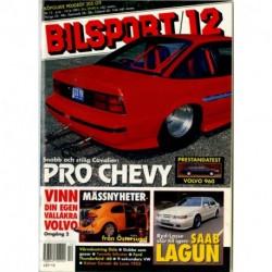 Bilsport nr 12  1991