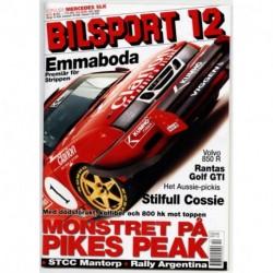 Bilsport nr 12  2003