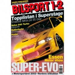 Bilsport nr 1  2003