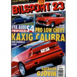 Bilsport nr 23  1998