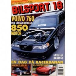 Bilsport nr 18  1998