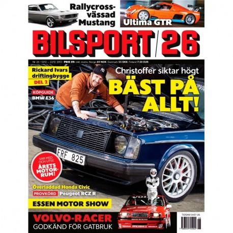 Bilsport nr 26 2013