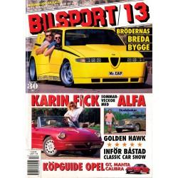 Bilsport nr 13  1992