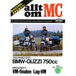 Allt om MC nr 10  1970