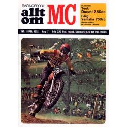 Allt om MC nr 1  1972