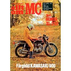 Allt om MC nr 12  1972