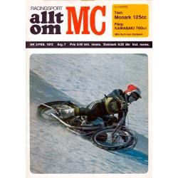 Allt om MC nr 2  1972