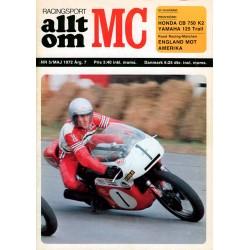 Allt om MC nr 5  1972