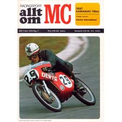 Allt om MC nr 7  1972