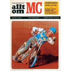 Allt om MC nr 9  1972