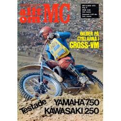 Allt om MC nr 6  1973