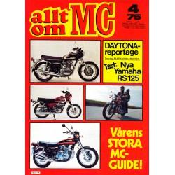 Allt om MC nr 4  1975
