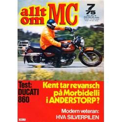 Allt om MC nr 7  1975