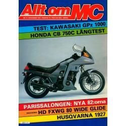 Allt om MC nr 11  1981
