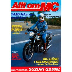 Allt om MC nr 12  1981