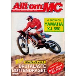Allt om MC nr 6  1981