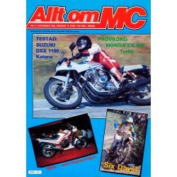 Allt om MC nr 11  1982