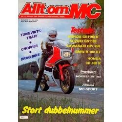 Allt om MC nr 7  1982