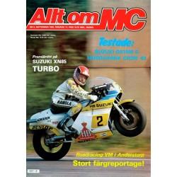 Allt om MC nr 9  1982