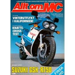 Allt om MC nr 4  1985
