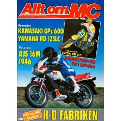 Allt om MC nr 9  1985