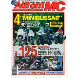 Allt om MC nr 6  1990