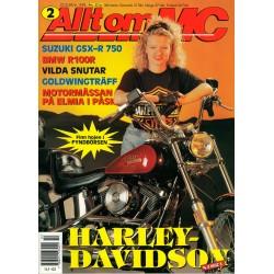 Allt om MC nr 2  1992