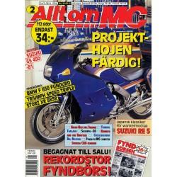 Allt om MC nr 2  1994