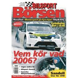 Bilsport Börsen nr 1 2006