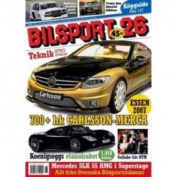 Bilsport nr 26 2007