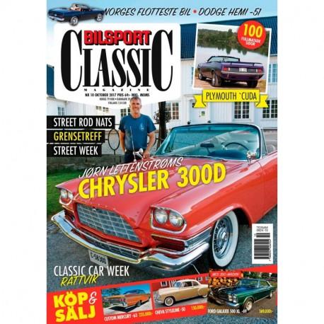 Bilsport Classic nr 10 2017